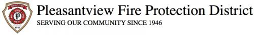 Pleasant View Fire Protection District Logo